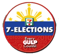 7-Eleven Elections Survey 2010 logo