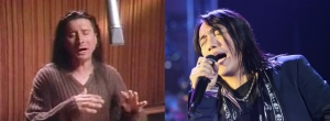 Steve Perry and Arnel Pineda (Journey)