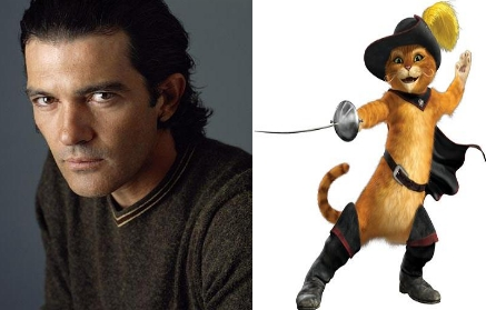 Antonio Banderas as Puss in Boots