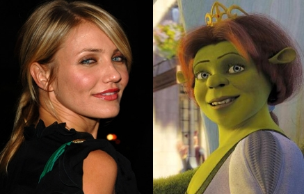 Cameron Diaz as Princess Fiona
