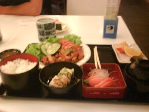 Japanese Food at Singapore