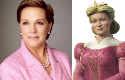 Julie Andrews as Queen