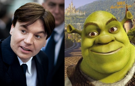 Mike Myers as Shrek