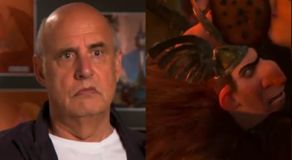 "Jeffrey Tambor as ""Big Nose Thug"""