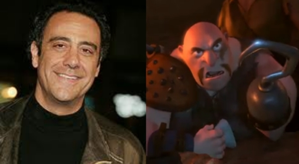 Brad Garrett as Hook Hand Thug