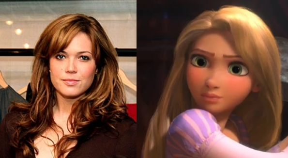 Mandy Moore as Rapunzel